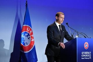 Uefa, Aleksander Ceferin rieletto presidente: in carica fino al 2023