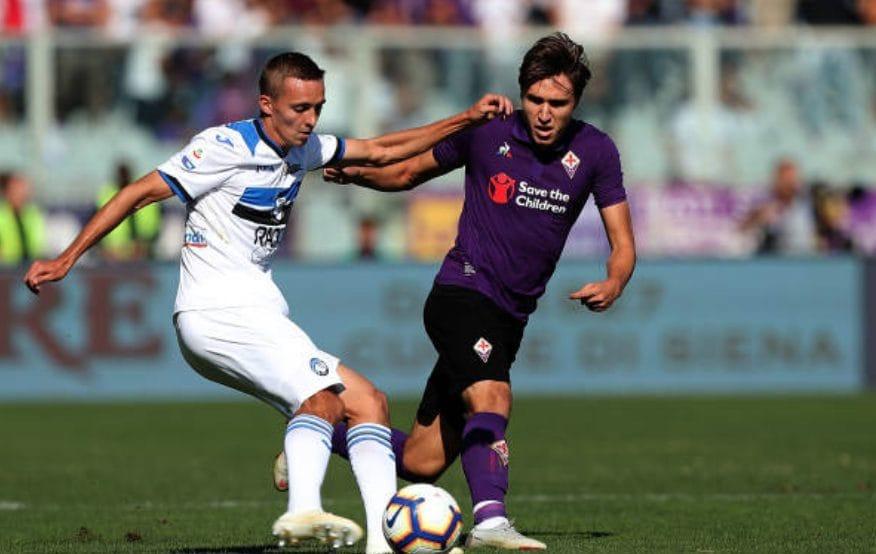 La Fiorentina sfiderà l'Atalanta.