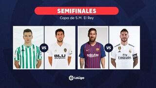 Copa del Rey, l'urna tira fuori il Clasico in semifinale: sarà Barça contro Real Madrid