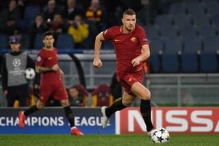 Roma, Champions League: contro il Porto Dzeko punta al record di gol di Totti