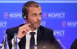 """Ceferin bocca la Superlega: """"Ucciderebbe il calcio, che noia Psg-Juve ogni settimana"""""""