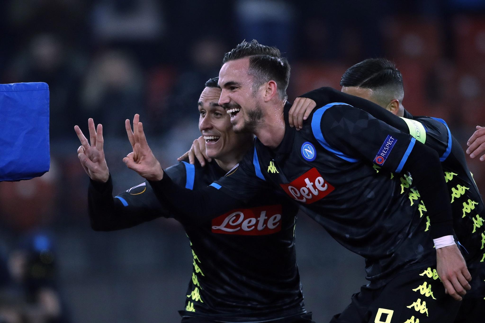 3–1 del Napoli allo Zurigo.