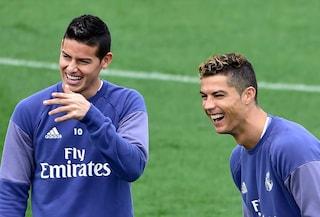 Dopo Marcelo, Cristiano Ronaldo chiama anche James Rodriguez alla Juventus