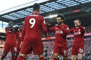 Premier, il Liverpool torna in testa con il 3-0 al Bournemouth: Mané, Wijnaldum e Salah