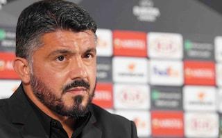 """Milan, Gattuso si gioca la Champions: """"Contro l'Atalanta ci vuole l'elmetto"""""""