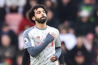 """Insulti razzisti a Salah in West Ham-Liverpool: """"Vaffa..... musulmano"""". Parte l'inchiesta"""