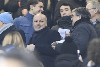 "Marotta: ""Conte-Inter? Gossip, sto con Spalletti che è terzo in classifica"""