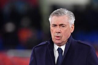 """Napoli, Ancelotti: """"Vogliamo l'Europa League, una vittoria sarebbe indimenticabile"""""""