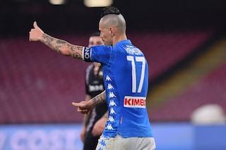 """Napoli, De Laurentiis su Hamsik: """"La trattativa? Non parlo adesso e mi diverto a leggervi"""""""