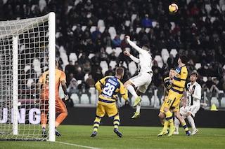 Ma quale assist di Ronaldo? Rugani fa tutto da solo sul gol