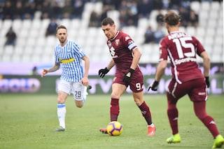 Spal-Torino brutta e da record: nessun gol ma ben 51 falli di gioco