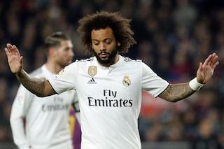 Real Madrid, scoppia il caso Marcelo: il brasiliano ha chiesto la cessione