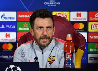 """Verso Roma-Porto, Di Francesco: """"Orgogliosi di essere in Champions. Manolas ok, Schick out"""""""