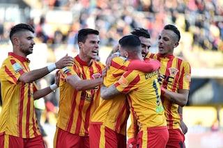 Serie B, Coda fa volare il Benevento: Cittadella battuto e Palermo più vicino