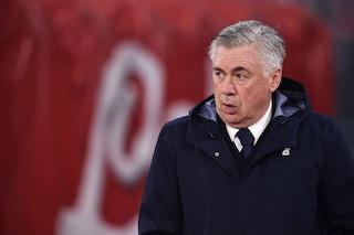 """Napoli, Ancelotti: """"In 2 partite 18 occasioni e niente gol. E' inaccettabile"""""""