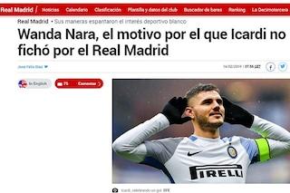Wanda Nara, la causa per cui Icardi non ha mai firmato per il Real Madrid