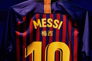 Il Barcellona come l'Inter: nel Clasico di Copa del Rey, i nomi dei giocatori in cinese