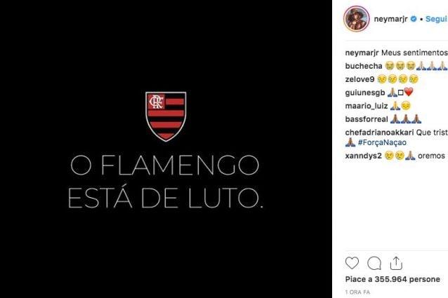 Flamengo, incendio al centro sportivo: dieci morti e tre feriti gravi