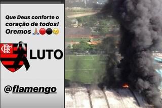 Flamengo, il dolore di Paquetà per le vittime dell'incendio e il messaggio dell'Inter