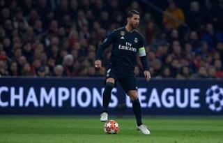 La Uefa punisce Sergio Ramos per il 'giallo' volontario: 2 turni di squalifica