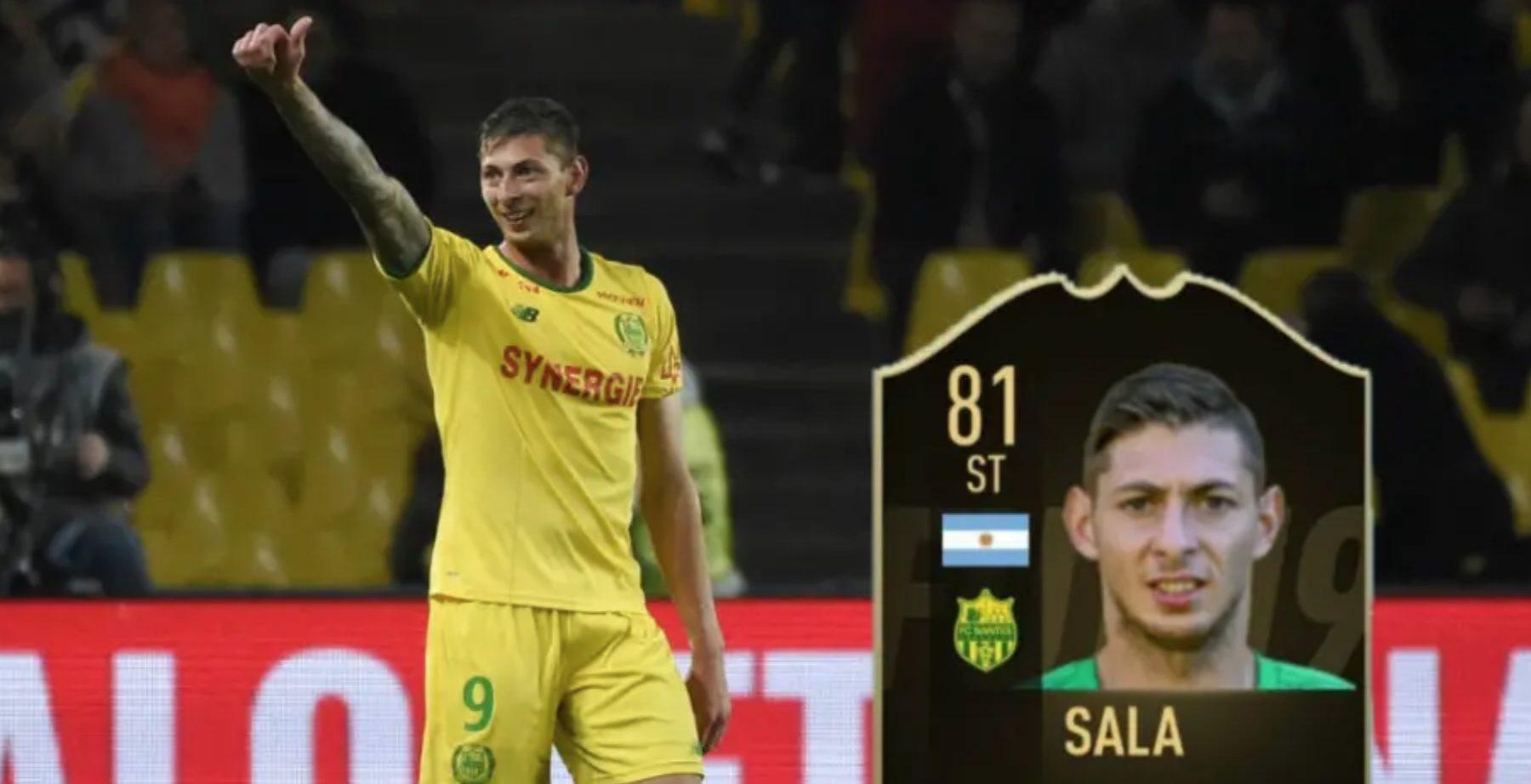 Sala in FIFA 19.