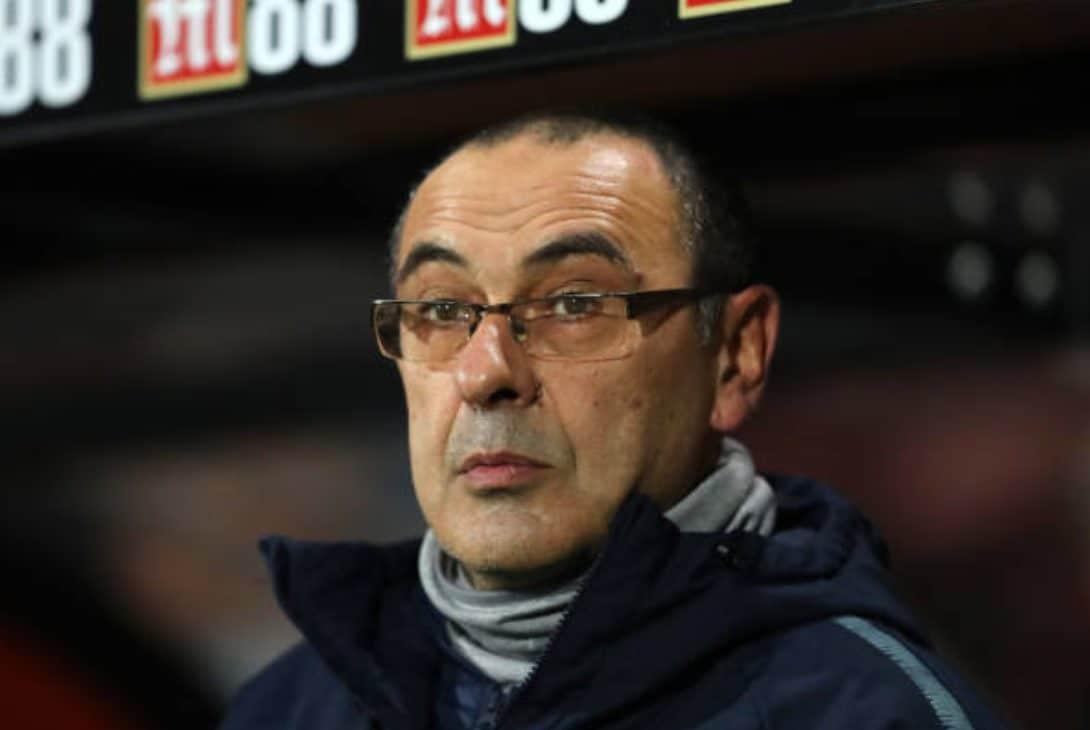 Maurizio Sarri ha allenato il Napoli per tre stagioni.