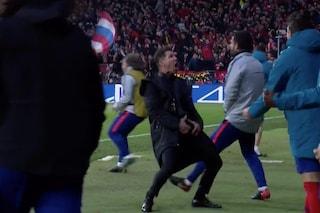 Atletico Madrid, Simeone sarà in panchina contro la Juve: per lui una multa da 20.000 euro