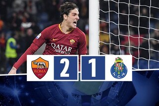 Roma, Zaniolo ti fa bella: Porto battuto, ma il 2 a 1 è un risultato scomodo
