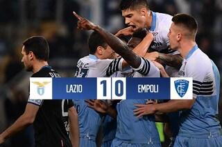 Lazio, basta un rigore di Caicedo: Empoli battuto e quarto posto