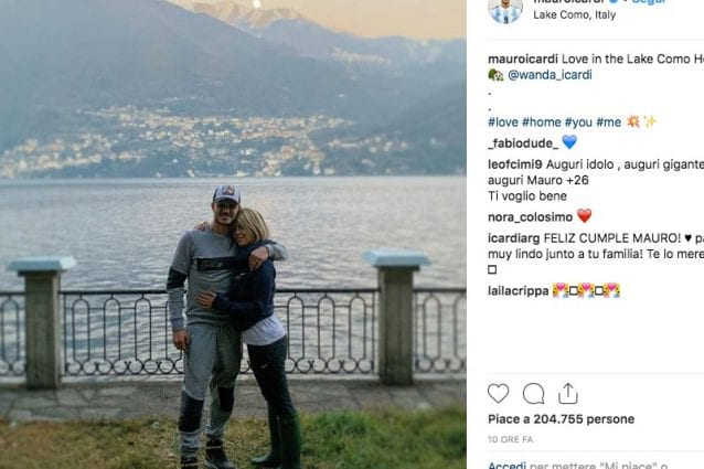 Inter, controlli terminati per Icardi: con lui c'era anche Wanda