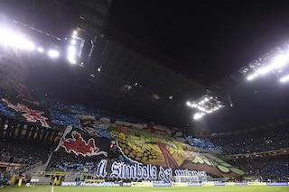 Inter, Matteo Salvini autorizza la coreografia della Curva Nord dedicata a Belardinelli