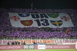 """La Fiorentina ricorda Davide Astori ad un anno dalla morte: """"E' sempre in campo con noi"""""""