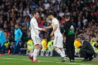 Real Madrid frattura con Bale: sostituito, lascia il Bernabeu prima della fine del Clasico