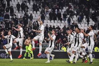 Juventus, quando può arrivare lo scudetto dopo il pareggio del Napoli col Sassuolo