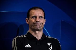 """Allegri: """"Ronaldo resta a casa. L'esultanza? Non sarà squalificato"""""""
