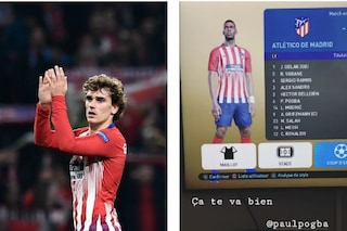 Il super Atletico di Griezmann alla Playstation con Ramos, Modric, Pogba, Messi e CR7
