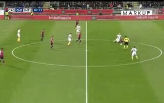 La moviola di Cagliari-Inter, perché Cigarini non è stato espulso