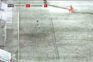 Hannover, la neve nega il gol ad Haraguchi: il curioso episodio in Bundesliga