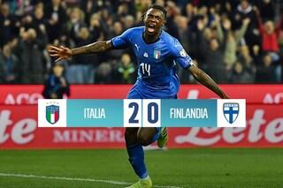 Qualificazioni Euro 2020, l'Italia sorride: Barella e Kean abbattono la Finlandia
