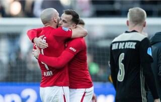Ajax ko con l'AZ Alkmaar. Infortunio per il bomber Ziyech