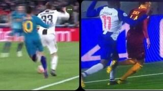 Correa su Bernardeschi come Marega su Schick: adesso l'UEFA come si giustifica?