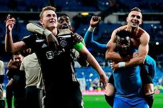 Champions League: da De Ligt a Neres, ecco i talenti dell'Ajax che hanno affossato il Real