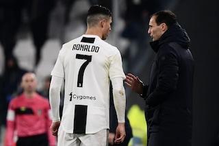 La probabile formazione della Juventus contro l'Udinese: Cr7 e i big a riposo