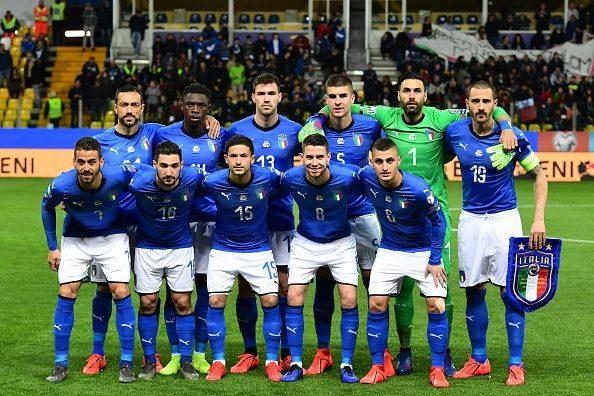 Italia-Lichtenstein, le ufficiali: Mancini schiera Politano. Davanti spazio a Quagliarella