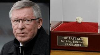 Inghilterra, venduta a 400mila sterline l'ultima gomma masticata da Ferguson