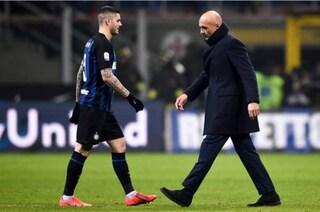 Mauro Icardi è 'guarito', torna ad allenarsi con l'Inter (e con Spalletti)