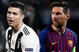 Champions League 2019-20: CR7 insegue Messi per numero di gol nella fase a gironi