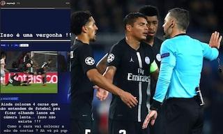 La Uefa apre un procedimento contro Neymar, il brasiliano rischia la squalifica