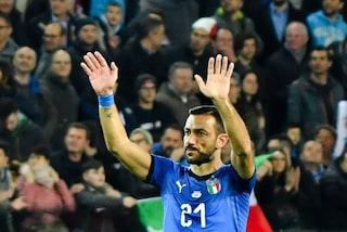 La lezione di Fabio Quagliarella alla giovane Italia del 'Mancio'