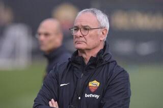 """Roma, Ranieri: """"Per la Champions serve chi lotta e corre. Tutti devono dare di più"""""""